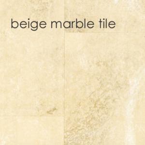 Marbrex Beige Marble Tile Effect Wall Panel