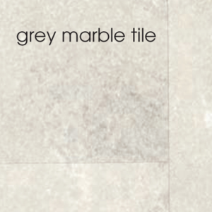 Marbrex Grey Marble Tile Effect Wall Panel