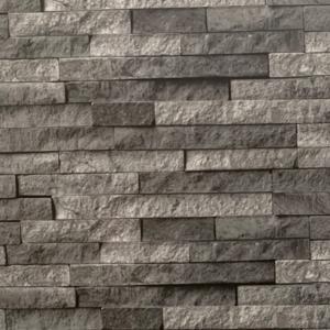 Neptune Anthracite Brick Effect Bathroom Panel