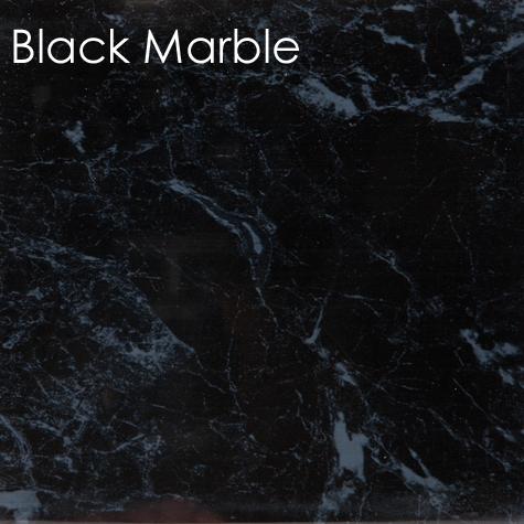 Neptune 1000 Mega Black Marble Bathroom Panel (1Mtr)