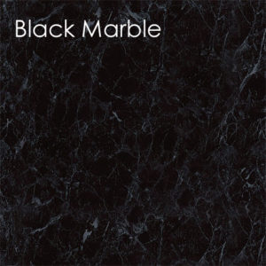 Neptune Black Marble Bathroom Panel