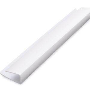 1 Part Edge Trim 10mm x 2.7m White