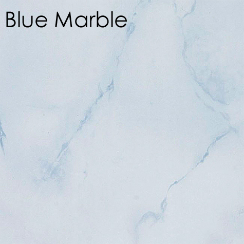 Neptune Blue Marble Bathroom Panel
