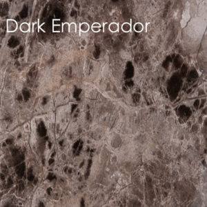 Poseidon Dark Emperador Bathroom Panel