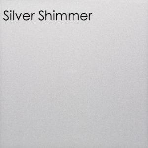 Poseidon Silver Shimmer Bathroom Panel