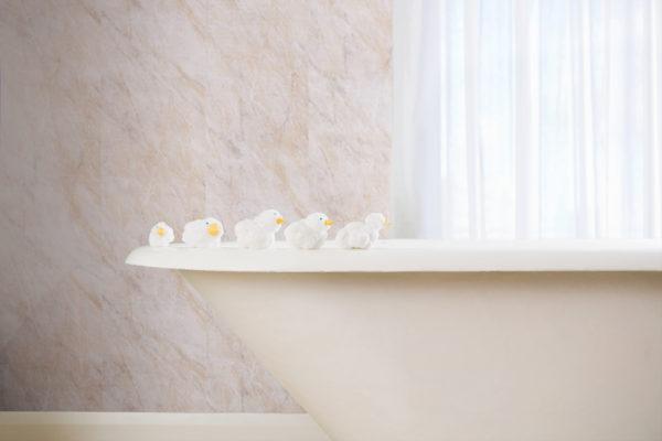 Neptune Pergamon Marble Bathroom Panel