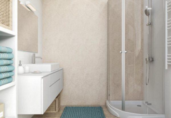 Neptune 1000 Mega Travertine Bathroom Panel (1Mtr)