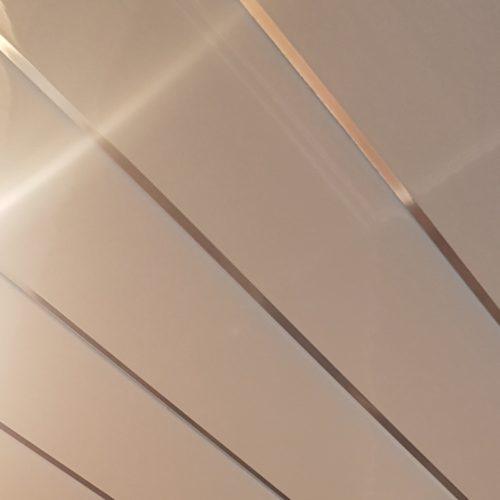 Neptune White Chrome Ceiling Panel (4Mtr)