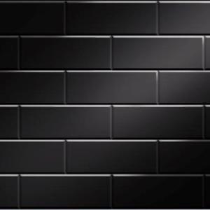 Atlantis Tile Effect Black